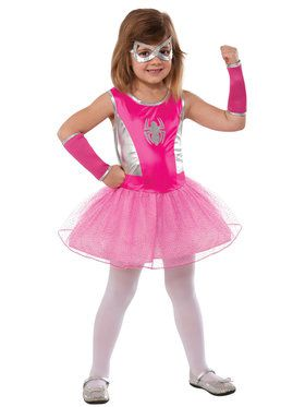 Child Pink Spider-girl