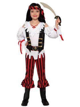 Child Pirate Lass Costume