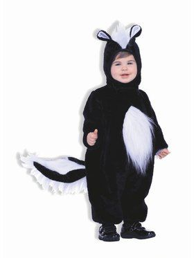 Child Plush Skunk Costume