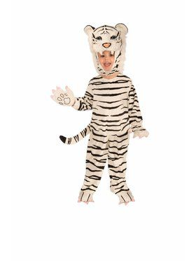 Child Plush - White Tiger Costume