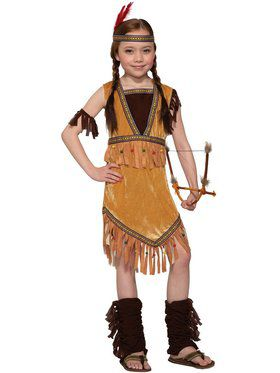 Child Prairie Princess Costume