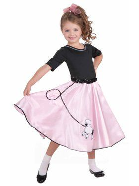 Child Pretty Poodle Princess Costume