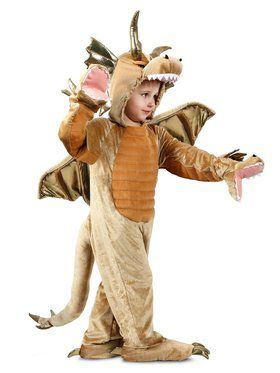 Child Puppet Pals King Dragon Costume
