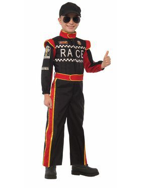 Child Race Car Driver Costume