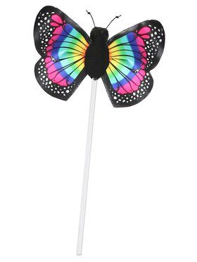 Child Rainbow Butterfly Wand