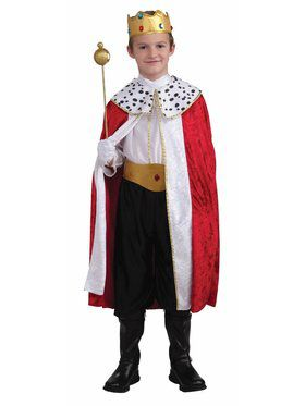 Child Regal King Costume