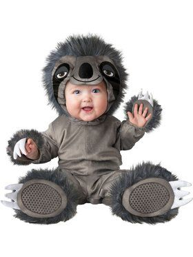 Child Silly Sloth Costume
