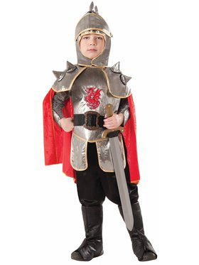 Child Silver Knight Costume