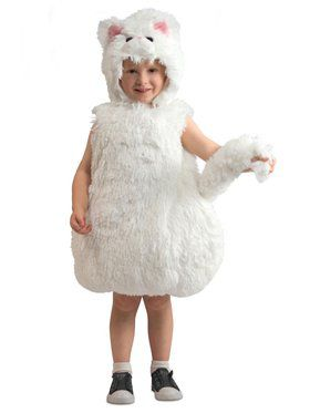 Child Snowball Kitty Costume