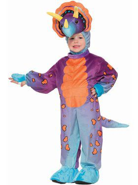 Child Spunky Triceratops Costume