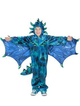 Child Sully the Dragon Costume