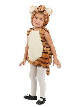 Child Tiger Bubble Costume