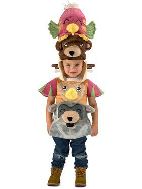 Child Totem Pole Costume