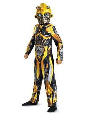 Transformer 5 Bumblebee Classic Child Costume
