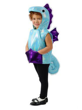Child Under the Seahorse Vest Costume