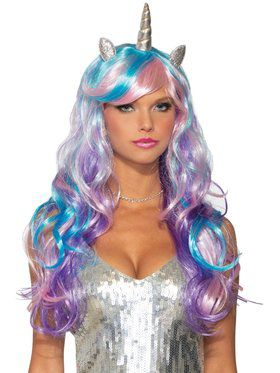 Adult Unicorn Pastel Wig