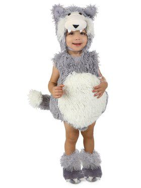 Child Vintage Beau the Big Bad Wolf Costume