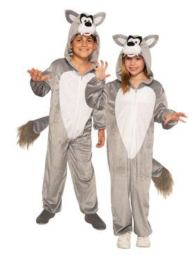 Wolf Jumpsuit Child Costume