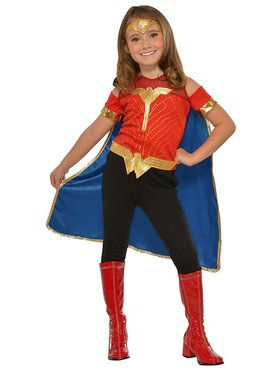 Child Wonder Woman Costume Top