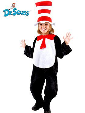 Childrens Cat In The Hat Costume