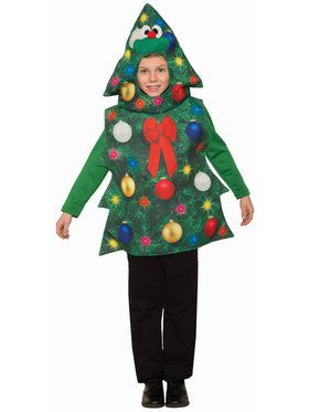 Children's Christmas Tree Costume