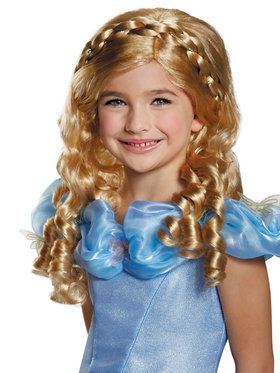 Disney Cinderella Movie Wig for Kids