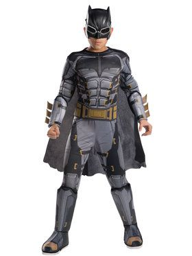 Tactical Batman Deluxe Child Costume - M