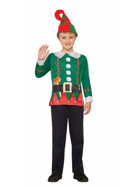Children's Elf Sublimation Shirt