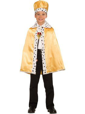 Royal Gold Cape for Kids