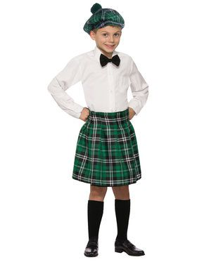 Children's Irish Kilt