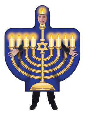 Children's Menorah Costume