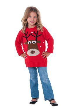 Reindeer Sweater for Kids