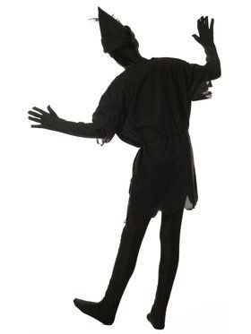 Children's Black Shadow Costume