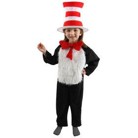 Childs Deluxe Cat In The Hat Costume
