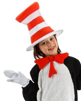 Childs Dr Seuss Cat In The Hat Accessory