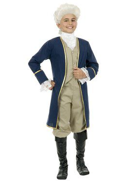 Child's George Washington Costume