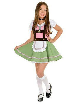 Alps Girl's Costume