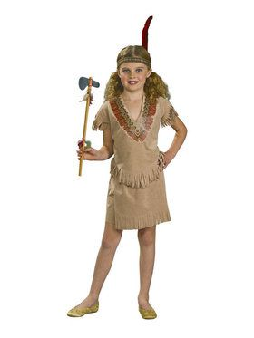 Childs Native American Girl Costume
