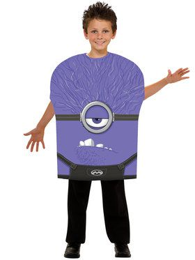 Childs Purple Minion Costume