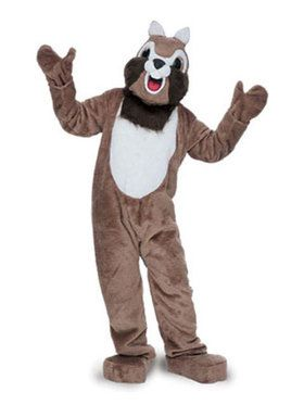 Adult Chipmunk Mascot Costume