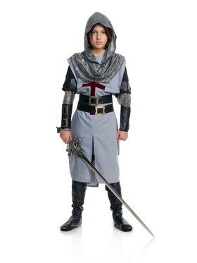 Chivalrous Knight Boy's Child Costume