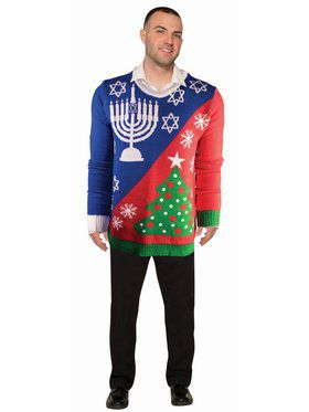 Christ/Chanukah Sweater