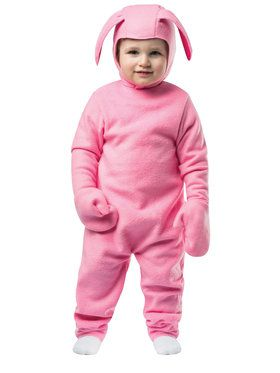 Christmas Bunny Children's Costume Toddler 3-4T
