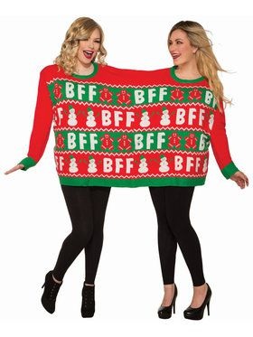 Christmas for Two BFF Sweater