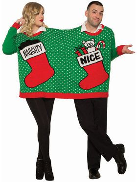 Christmas for Two Naughty/Nice Sweater