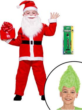 Christmas Mr. Vile One Green Character Kid's Kit