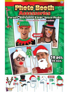 Christmas Photo Booth Accessories