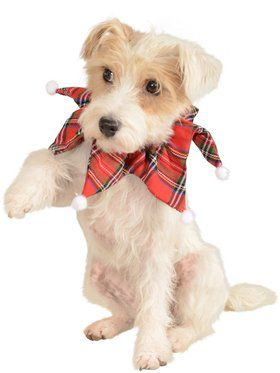 Christmas Plaid Collar for Pets
