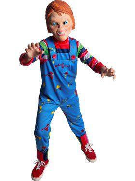 Child Creepy Chucky Costume