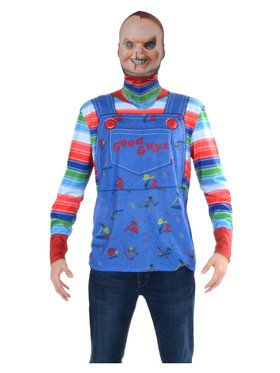 Chucky Mask and Tee Adult Costume
